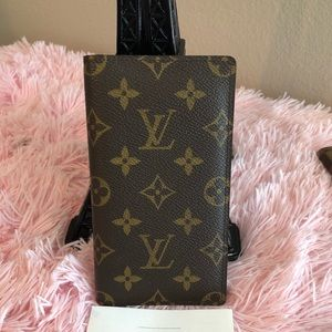 Authentic Louis Vuitton checkbook holder monogram